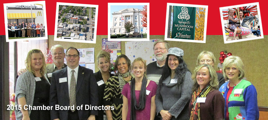 2015 Chamber Board of Directors